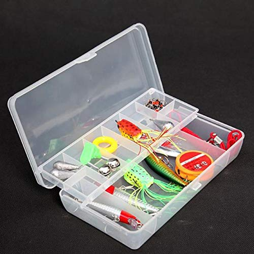 Storage Boxes Bins - Plastic Tray Compartments Fishing Lure Organize Case Tackle Box Two Sided Storage Cases Hand - Boxes Storage Bins Storage Boxes Bins Fish Tray Lure Cover Doll Shelf
