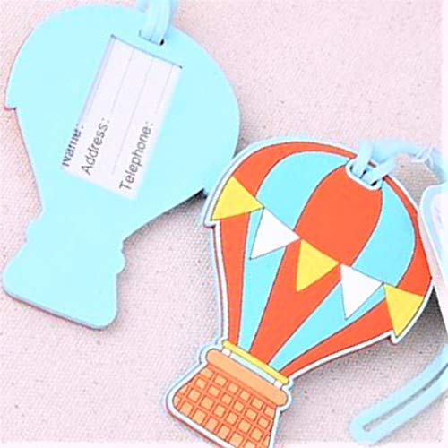 """Wedding/Birthdays/Retirement Favors Floating""""Hot Air Balloon"""" Luggage Tag/Favors set of 10"""