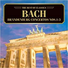 バッハ:ブランデンブルク協奏曲第1、2、3番
