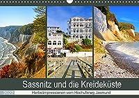 Sassnitz und die Kreidekueste - Herbstimpressionen vom Hochuferweg Jasmund (Wandkalender 2022 DIN A3 quer): Fotos der schoenen Ostseite der Insel Ruegen (Monatskalender, 14 Seiten )