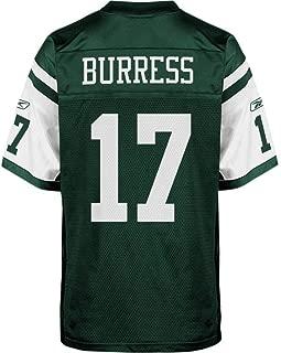 Reebok New York Jets Plaxico Burress NFL Jersey Jets