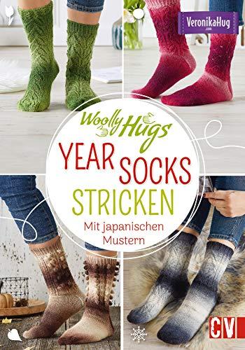 Woolly Hugs YEAR-Socks stricken: Mit japanischen Mustern