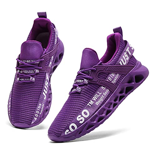 CAIQDM Air Basket Femme Sport Chaussure Outdoor Running Sneakers Mode Casual Gym Fitness March Respirante Toute et Chemin