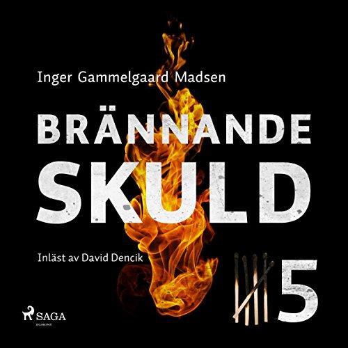 Brännande skuld 5 audiobook cover art