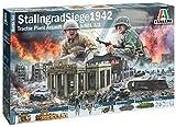 Italeri 1:72 Battle Set Stalingrad Victoria, réplica Fiel Original, maquetas,...