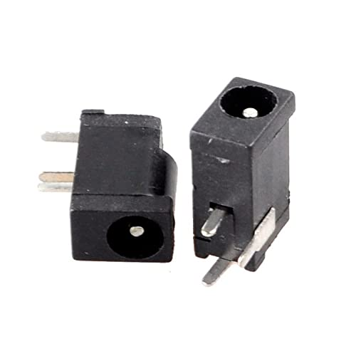 10PC 3Pin 3.5 X 1.3mm DC socket jack for PCB Charger Power Plug Female Soldering