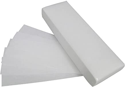 100 pcs professionnels visage et du corps de cire à épiler bandes de papier non-tissé dépilatoire Epilator