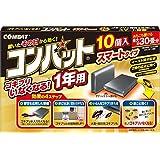 【まとめ買い】コンバット スマートタイプ 1年用 10個 ×2個