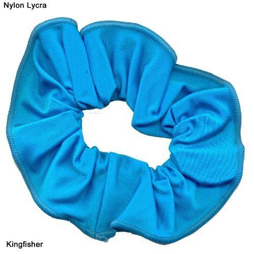 Brillant en nylon/Lycra Cheveux Chouchou (Kingfisher)