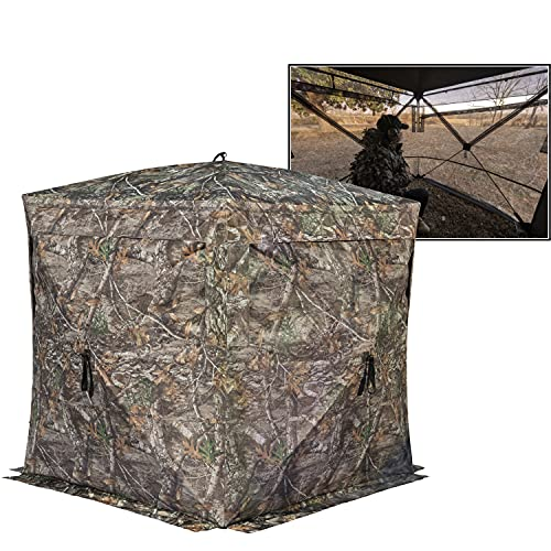 Rhino Blinds R180 3 Person See Through Hunting Ground...