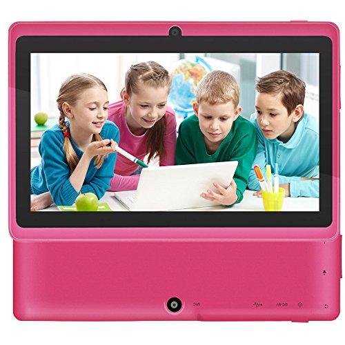 Para los niños Aprendizaje 7 Android 4.0 HD Tablet PC con Quad Core 1.2GHz WiFi 8GB más reciente