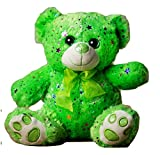 Teddy Bear You are My Shining Star Plush Stuffed Animal Tie Dye Rainbow (Green)
