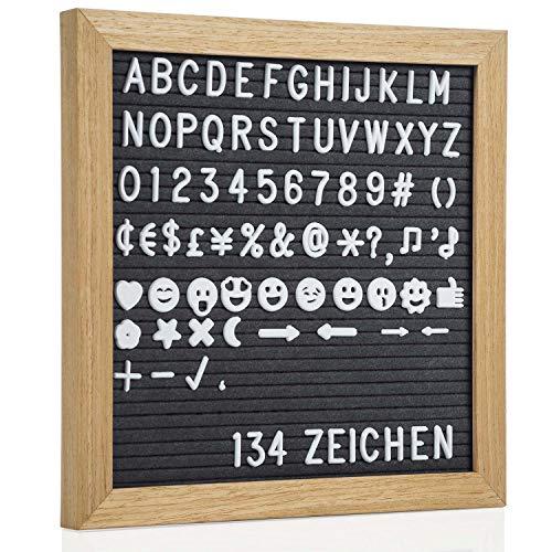 GOODS + GADGETS - Tabla de madera con letras 27 cm