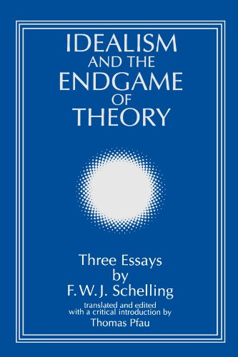 Idealism and the Endgame of Theory: Three Essays (SUNY series, Intersections: Philosophy and Critical Theory)