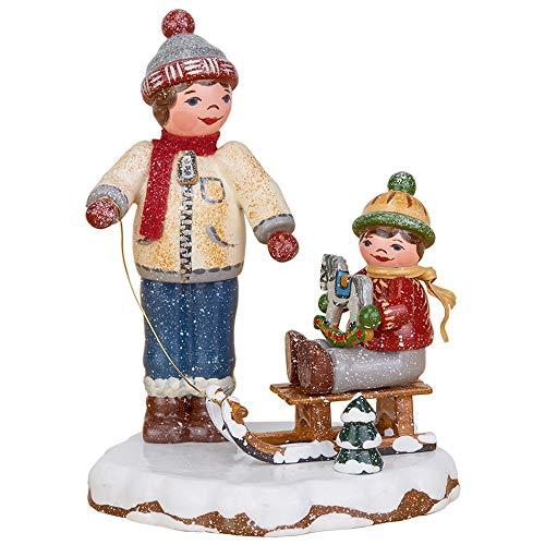 Hubrig Volkskunst Winterkinder Beste Freunde - 8 cm