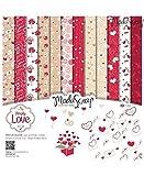 Moda Scrap Set Carta Ms 30x30 Fg.24 Gr.170 Simply Love
