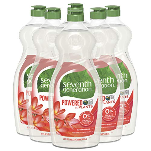 6 Pack Seventh Generation Dish Liquid Soap Now $13.45 (Was $20.94)