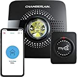 MyQ Smart Garage Door Opener Chamberlain MYQ-G0301 - Wireless & Wi-Fi enabled Garage Hub with S…