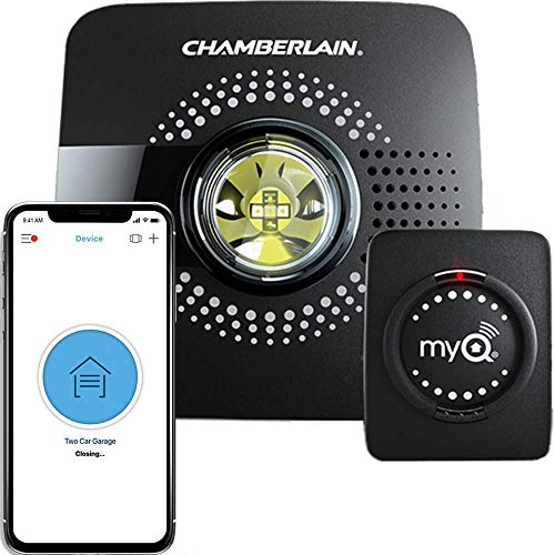 Chamberlain Hub MYQ-G0301 &ndash Upgrade Your Existing Garage Door Opener with MyQ Smart Phone Control, black