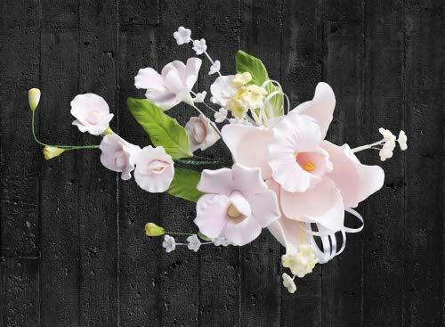 Cake Company Orchideen-Bouquet rosa 1 Stück 1er Pack (1 x 50 g)