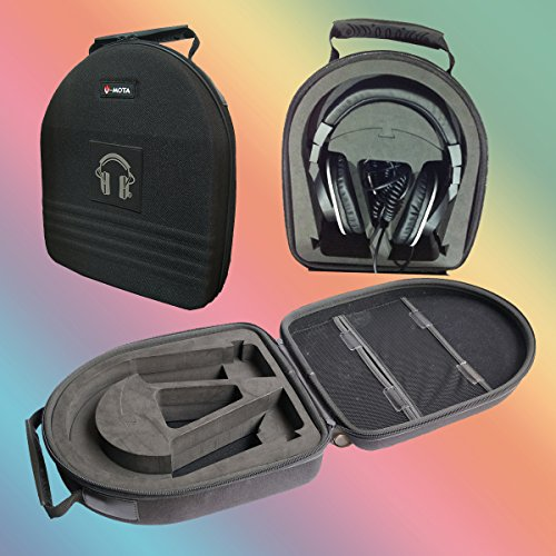 V-MOTA TDG Headphone Suitcase Carry case boxs for Shure SRH840 SRH940 SRH440 SRH940 SRH1440 SRH1840 SRH240 SRH1540 Headset