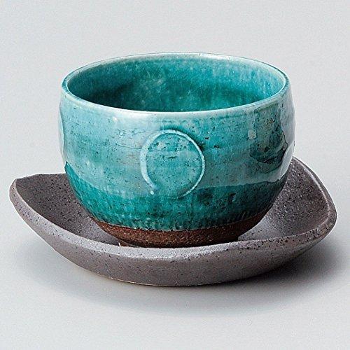 Yamakiikai Y1571 - Taza de té (cerámica), color azul