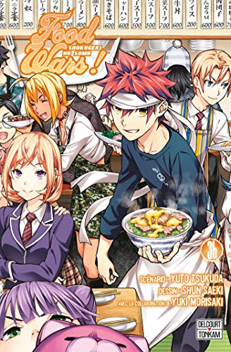 Food Wars Edition simple Tome 36