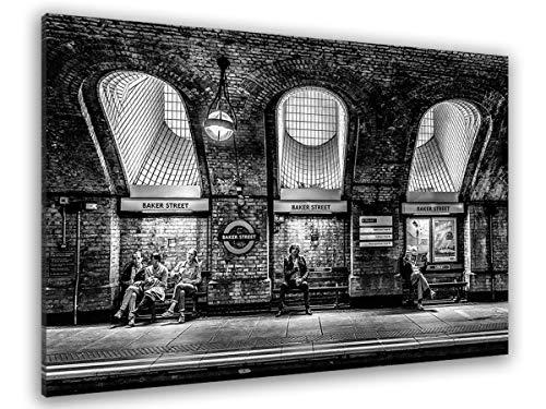 Hexoa Baker Street Kreidetafel, Schwarz und Weiß, hergestellt in Frankreich