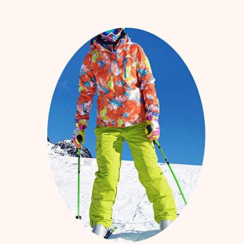 WLD Costume Costume De Ski En Plein Air Lesbienne Vent Froid Chaud Et Imperméable À L'Eau Simple Féminin Double Féminin Plaque Skiwear Costume Couples Ski Costume Vent Chaud/E/L