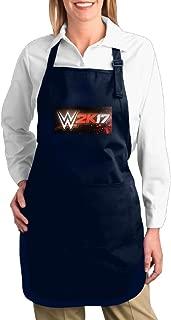 WWE 2k17 Logo Unisex Kitchen Cooking Grilling Apron Navy