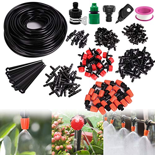 Drip Irrigation System 82ft 1/4
