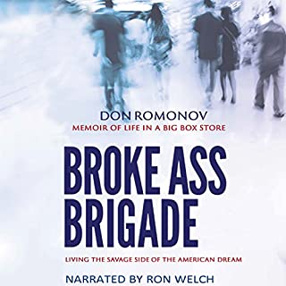The Broke Ass Brigade audiobook cover art