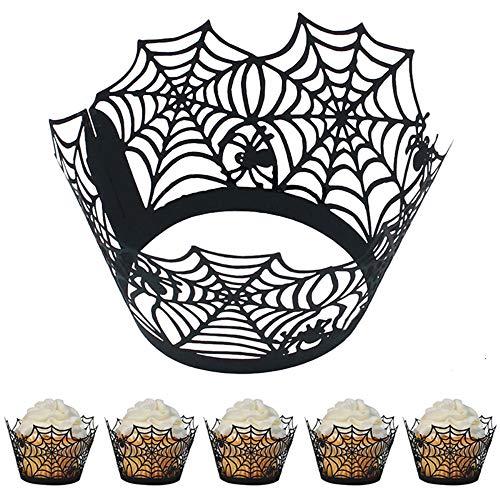 Fellibay Lot de 48 emballages pour cupcakes et muffins
