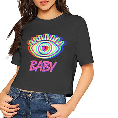 TVXQXIAH Charli XCX Shirt Fashion Design Charli XCX Short Sleeve Fleece Pullover for Youyh Weekend Black