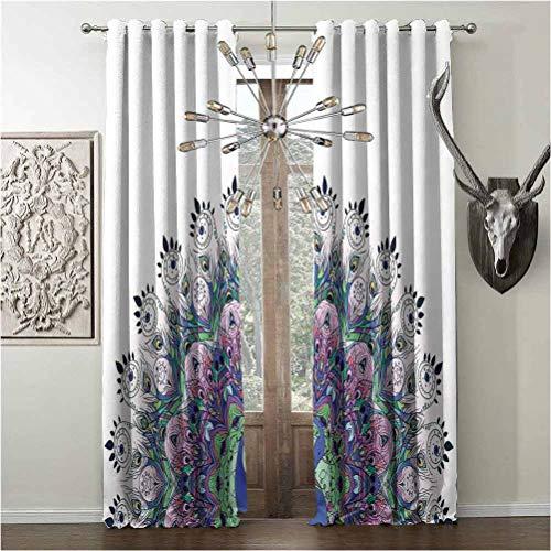 cortinas cortas vintage