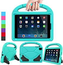 LEDNICEKER Kids Case for iPad Mini 1 2 3 4 5 - Light Weight Shock Proof Handle Friendly Convertible Stand Kids Case for iPad Mini, Mini 5 (2019), Mini 4, iPad Mini 3rd Gen, Mini 2 - Turquoise