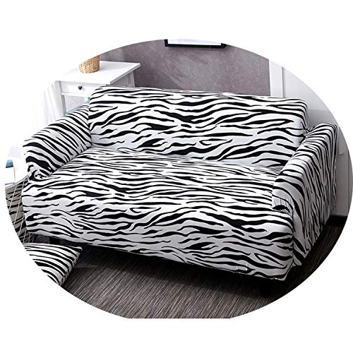 Slipcovers Sofa Elastic Stretch Cotton Tight Wrap All-Inclusive Slip-Resistant Armchair Loveseat Sectional Couch Cover Full Sofa Color 1 2-Seater 145-185cm