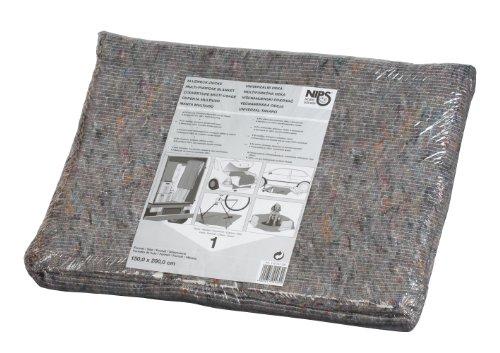 NIPS 118747204 ALLZWECK-DECKE 150 x 200 cm, 220g/m², 4-seitig gesäumt, anthrazit