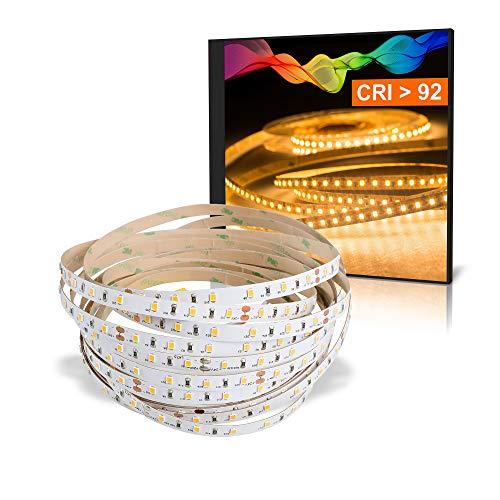 LED 2835 Bande blanc chaud (2700K) CRI 92 36W 5m 24V IP20