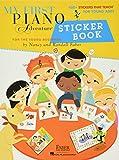 My first piano adventure sticker book piano