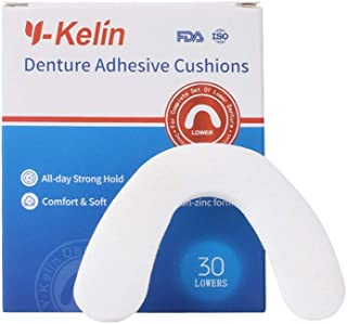 Y-Kelin Denture Adhesive Cushion (lower 30pcs)