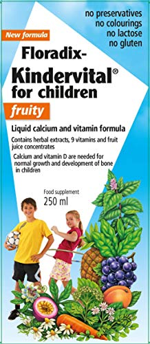 Salus Floradix Kindervital - Childrens Fruity Formula - 1 X 250ml