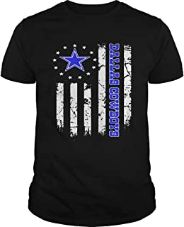 New Collection T shirt for Woman, Man anniversary Dallas Cowboys Betsy Ross Flag shirt