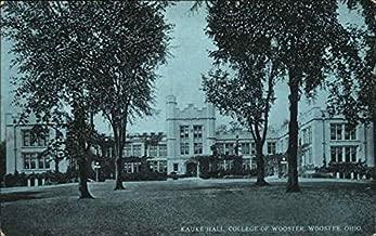college of wooster kauke hall