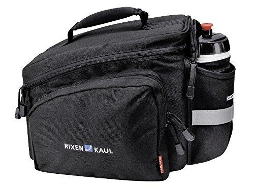 KLICKfix Farradtasche Rackpack 2 Schwarz Gepäckträgertasche, 35 x 24 x 23 cm