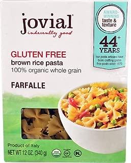 Jovial Gluten Free Brown Rice Pasta Farfalle -- 12 oz - 2 pc