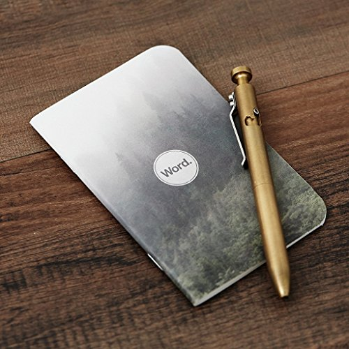 Word. Notebooks Mist - 3-Pack Small Pocket Notebooks Photo #6