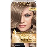 L'Oreal Paris Superior Preference Fade-Defying + Shine Permanent Hair Color, 7A Dark Ash Blonde, 1 kit Hair Dye