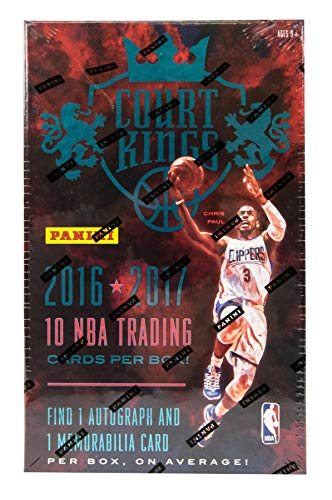 Panini 2016/17 Court Kings Basketball Hobby Box NBA