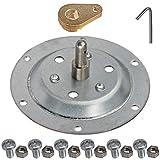 Spares2go - Kit de eje de tambor remachado compatible con secadora Indesit
